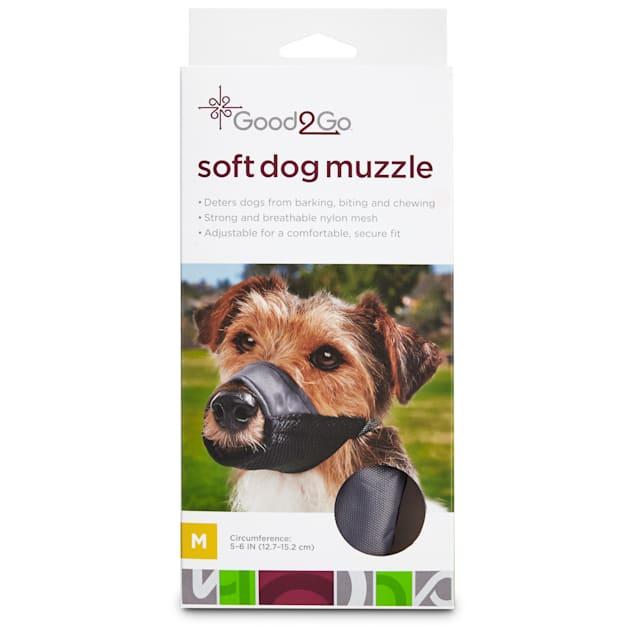 Good2Go Nylon & Mesh Dog Muzzle, Medium - Carousel image #1