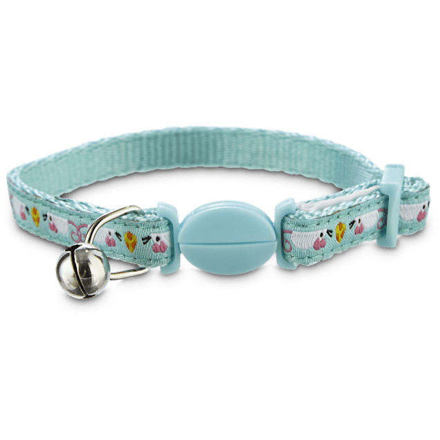 Bond & Co Blue Mouse Print Kitten Collar - Carousel image #1