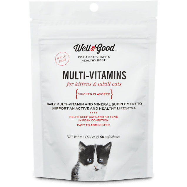 Well & Good Multi Vitamin for Cats, 60 ct - Carousel image #1