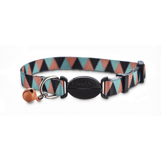 Good2Go Triangle Pattern Cat Collar - Carousel image #1