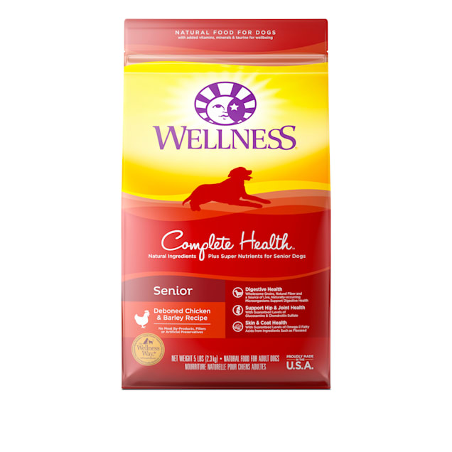 Wellness Complete Health Natural Senior Recipe Dry Dog Food, 5 lbs. - Carousel image #1