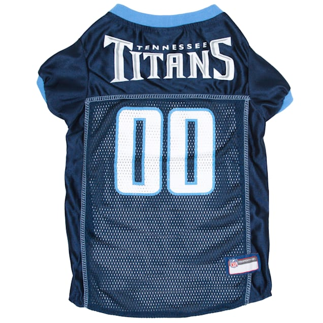 Pets First Tennessee Titans NFL Mesh Pet Jersey, X-Small - Carousel image #1