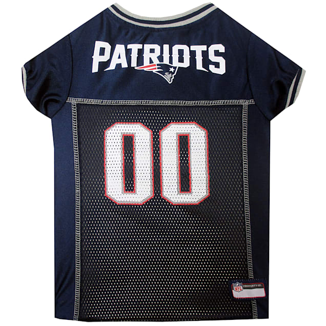 Pets First New England Patriots NFL Mesh Pet Jersey, X-Small - Carousel image #1