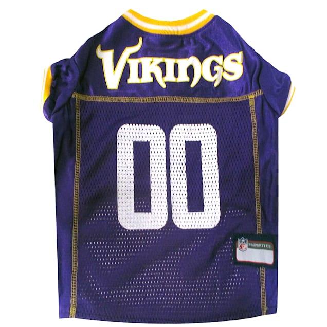 Pets First Minnesota Vikings NFL Mesh Pet Jersey, X-Small - Carousel image #1