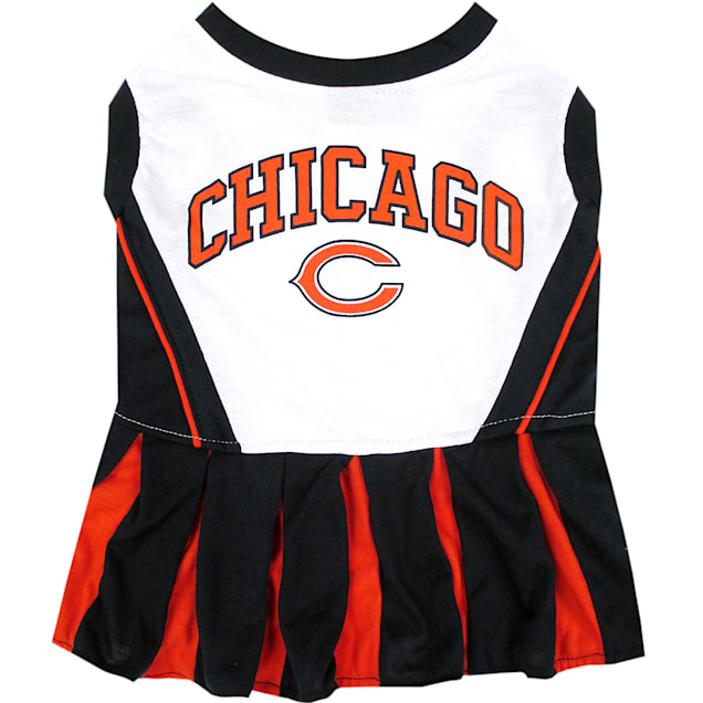 Pets First Chicago Bears NFL Cheerleader Outfit, X-Small - Carousel image #1