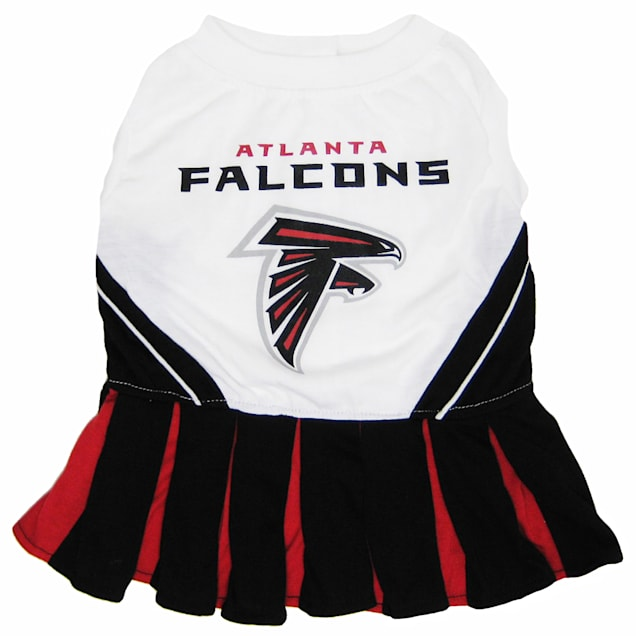 Pets First Atlanta Falcons NFL Cheerleader Outfit, X-Small - Carousel image #1