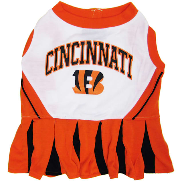 Pets First Cincinnati Bengals NFL Cheerleader Outfit, X-Small - Carousel image #1