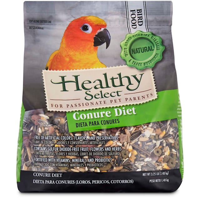 Healthy Select Conure Diet Bird Food , 3.25 lbs. - Carousel image #1