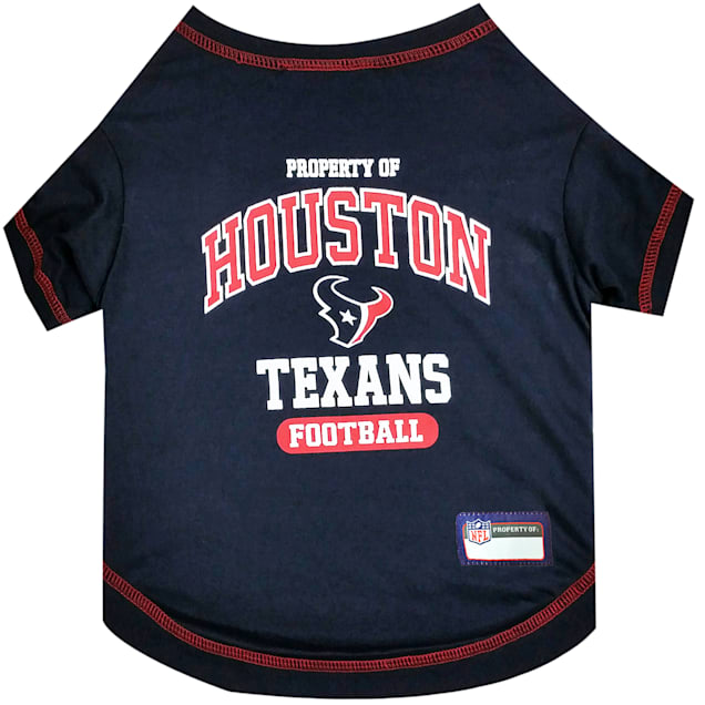 Pets First Houston Texans T-Shirt, X-Small - Carousel image #1