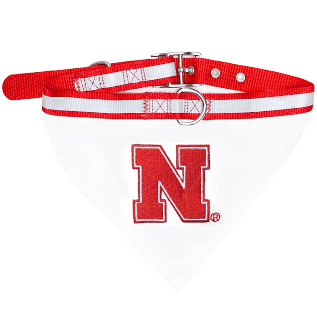 Pets First Nebraska Cornhuskers NCAA Dog Collar Bandana, Small - Carousel image #1