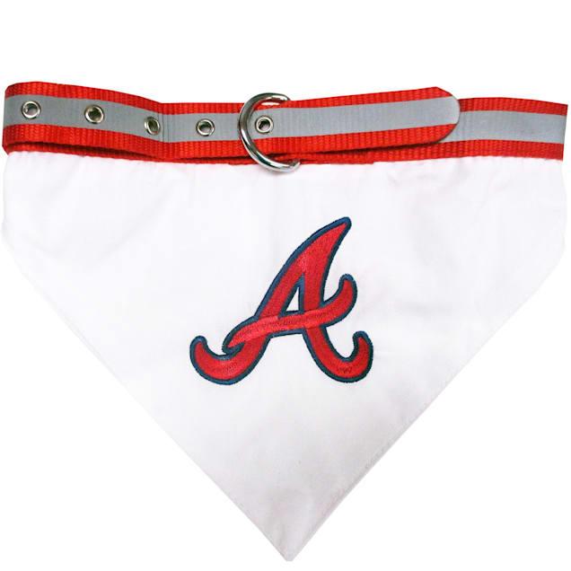 Pets First Atlanta Braves Collar Bandana, Small - Carousel image #1