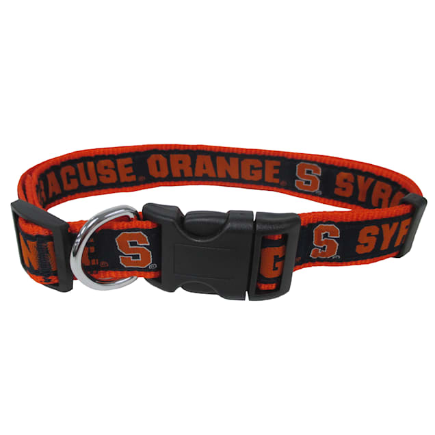 Syracuse Orange NCAA Dog Collar, Small - Carousel image #1