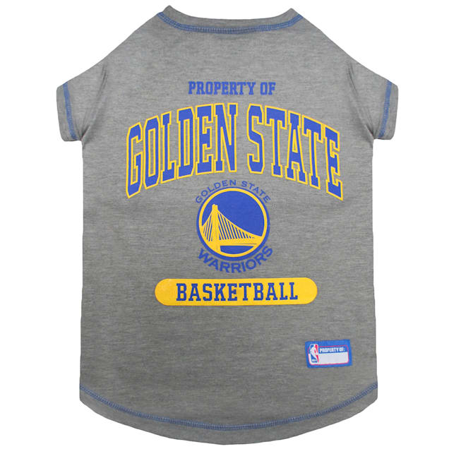 Pets First Golden State Warriors T-Shirt, X-Small - Carousel image #1