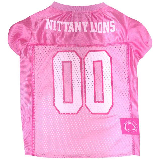 Pets First Penn State Nittany Lions Pink Jersey, X-Small - Carousel image #1