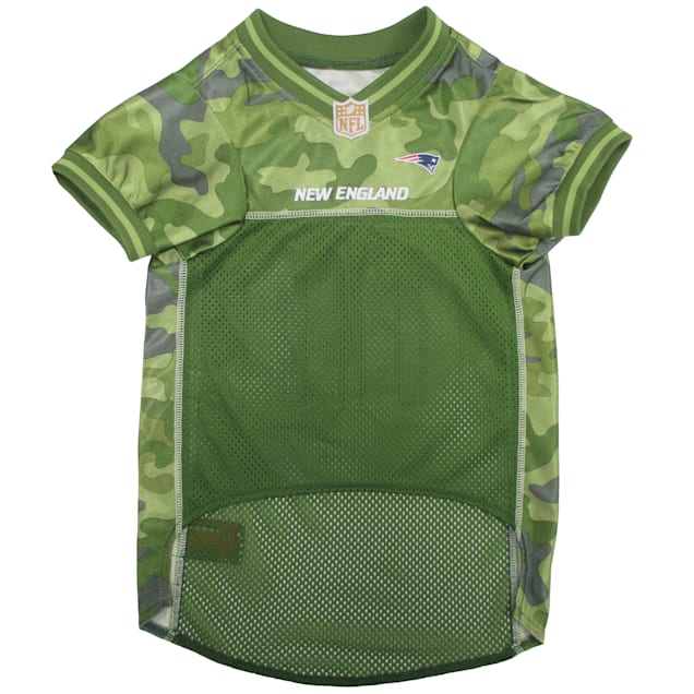 Pets First New England Patriots Camo Jersey, X-Small - Carousel image #1