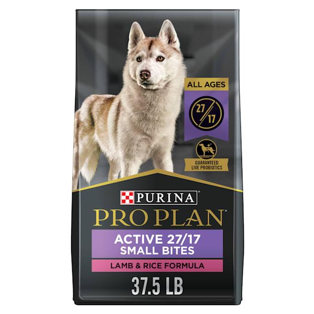 Purina Pro Plan Small Bites Lamb & Rice Formula Dry Dog Food, 37.5 lbs. - Carousel image #1