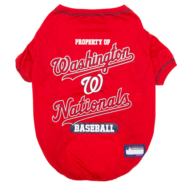 Pets First Washington Nationals T-Shirt, X-Small - Carousel image #1