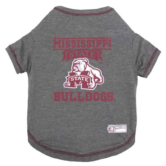 Pets First Mississippi State Bulldogs Dog T-Shirt, X-Large - Carousel image #1
