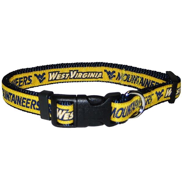 West Virginia Mountaineers NCAA Dog Collar, Small - Carousel image #1