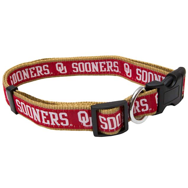 Pets First Oklahoma Sooners NCAA Dog Collar, Small - Carousel image #1
