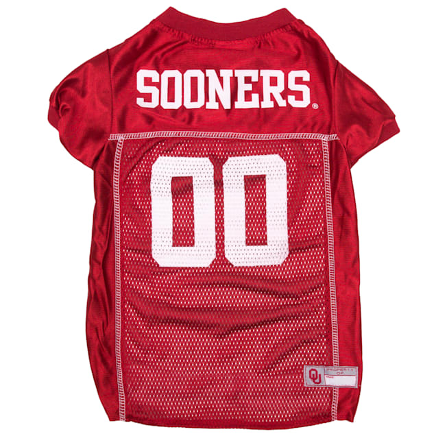 Pets First Oklahoma Sooners NCAA Mesh Jersey for Dogs,X-Small - Carousel image #1
