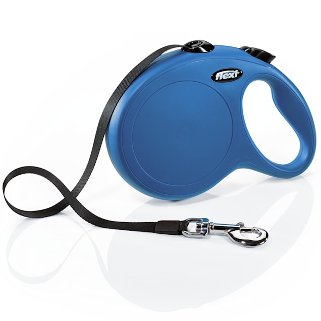 Flexi Classic Retractable Dog Leash in Blue, Large 26' - Carousel image #1