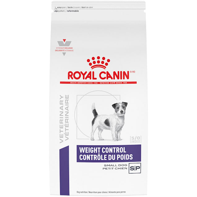 Royal Canin Veterinary Care Nutrition Canine Weight Control Small Dog Dry Dog Food, 7.7 lbs. - Carousel image #1