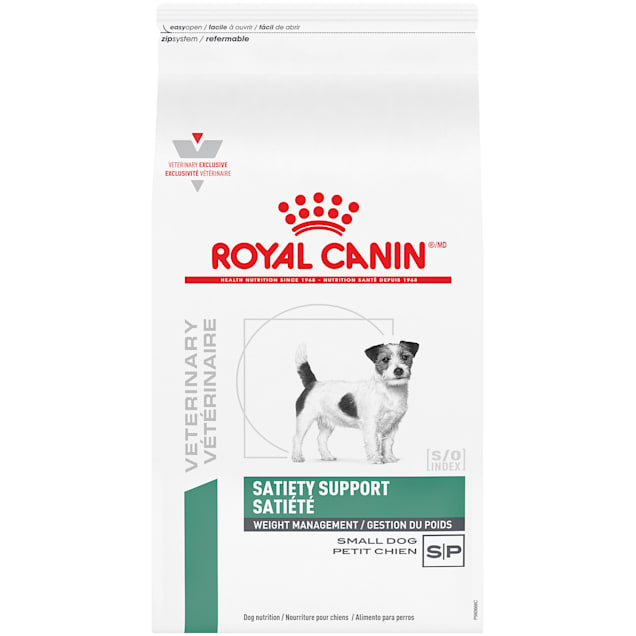 Royal Canin Veterinary Diet Satiety Support Small Breed Dry Dog Food, 6.6 lbs. - Carousel image #1