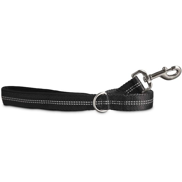 Good2Go Reflective Leash in Black, 6 ft. - Carousel image #1