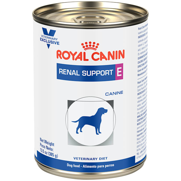 Royal Canin Veterinary Diet Renal Support E (Enticing) Wet Dog Food, 13.5 oz., Case of 24 - Carousel image #1