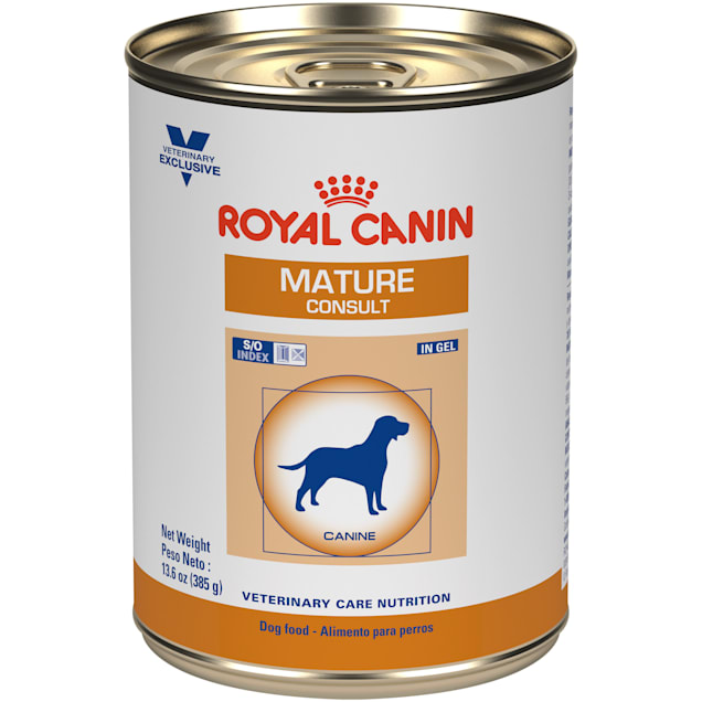 Royal Canin Veterinary Care Nutrition Canine Mature Consult In Gel Wet Dog Food, 13.6 oz., Case of 24 - Carousel image #1