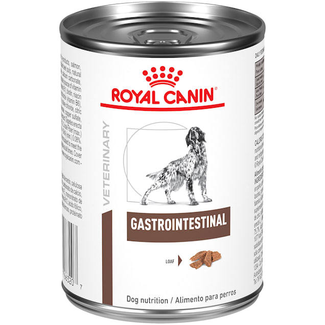 Royal Canin Veterinary Diet Gastrointestinal Loaf Wet Dog Food, 13.6 oz., Case of 24 - Carousel image #1