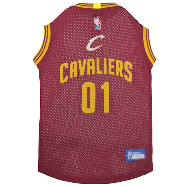Pets First Cleveland Caveliers NBA Mesh Jersey for Dogs, X-Small - Carousel image #1