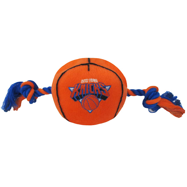 Pets First New York Knicks NBA Plush Basketball Toy for Dogs, X-Large - Carousel image #1