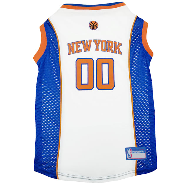 Pets First New York Knicks NBA Mesh Jersey for Dogs, X-Small - Carousel image #1