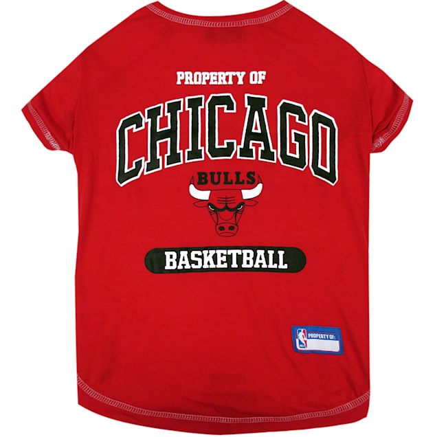 Pets First Chicago Bulls NBA T-Shirt for Dogs, X-Small - Carousel image #1