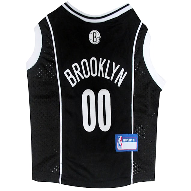 Pets First Brooklyn Nets NBA Mesh Jersey for Dogs, X-Small - Carousel image #1
