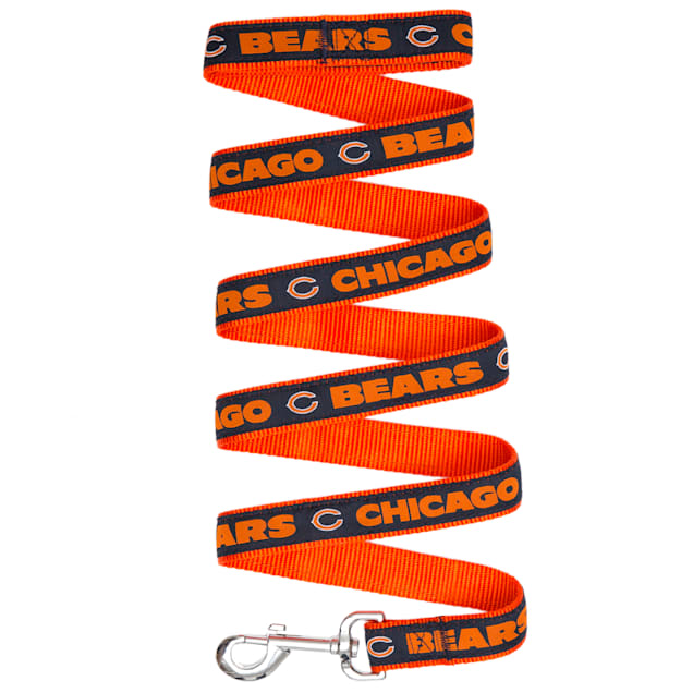 Pets First Chicago Bears Leash, Small - Carousel image #1