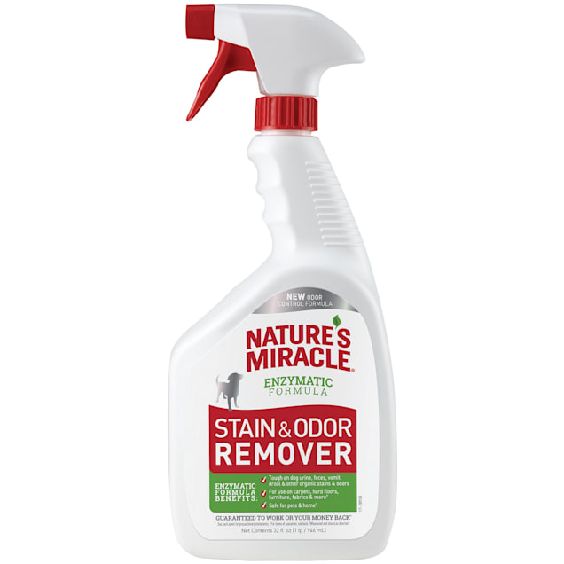 Nature's Miracle New Formula Stain & Odor Remover Spray, 32 fl. oz. - Carousel image #1
