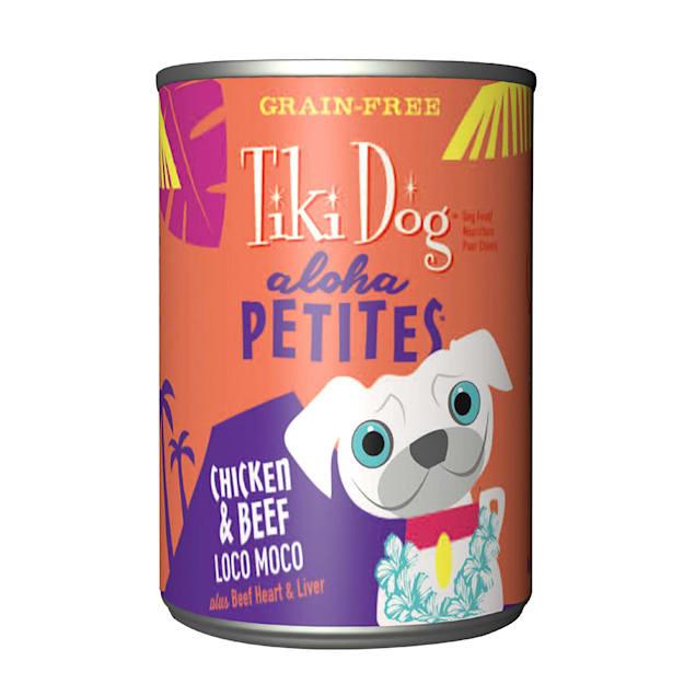 Tiki Dog Aloha Petites Chicken & Beef Loco Moco Small Breed Wet Dog Food, 9 oz., Case of 8 - Carousel image #1