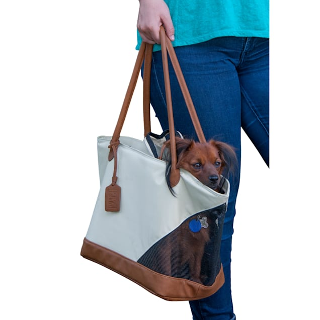 Pet Gear R&R Pet Tote Bag in Sand - Carousel image #1