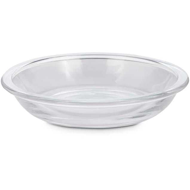 Bowlmates Glass Cat Bowl Insert, 6 fl.oz. - Carousel image #1