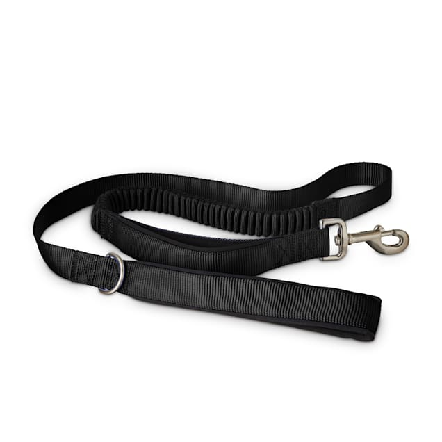 Good2Go Black Shock Absorbing Dog Leash, 5 ft. - Carousel image #1