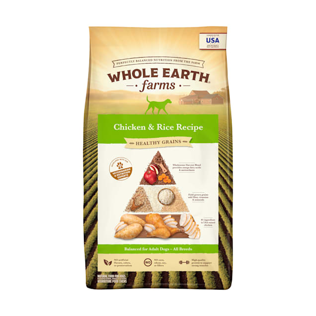 Whole Earth Farms Adult Dry Dog Food, 25 lbs. - Carousel image #1