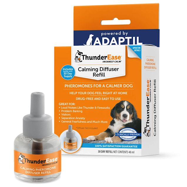 ThunderEase Calming Diffuser Refill for Dogs, 48 ml. - Carousel image #1