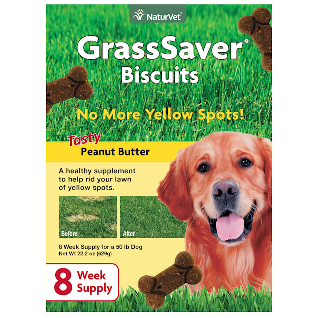 NaturVet GrassSaver Biscuits for Dogs, 22.2 oz. - Carousel image #1
