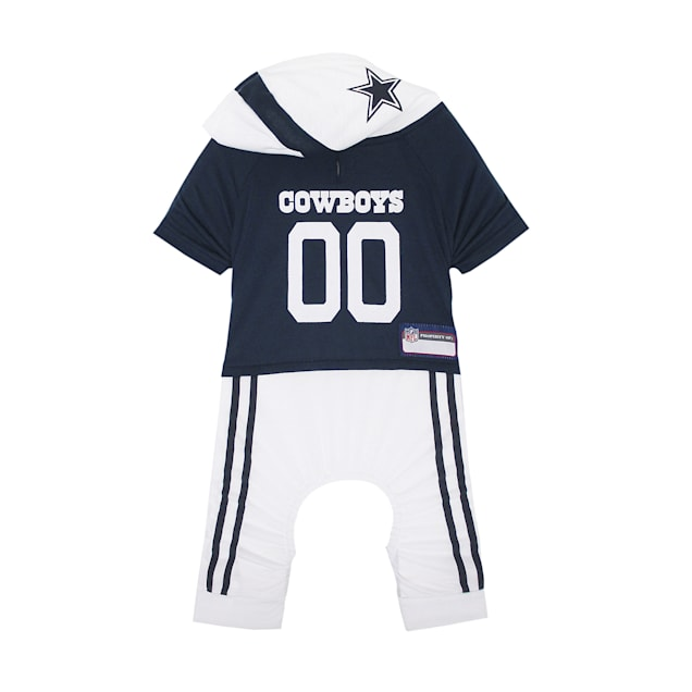 Pets First Dallas Cowboys Team Uniform Onesi for Dogs, X-Small - Carousel image #1