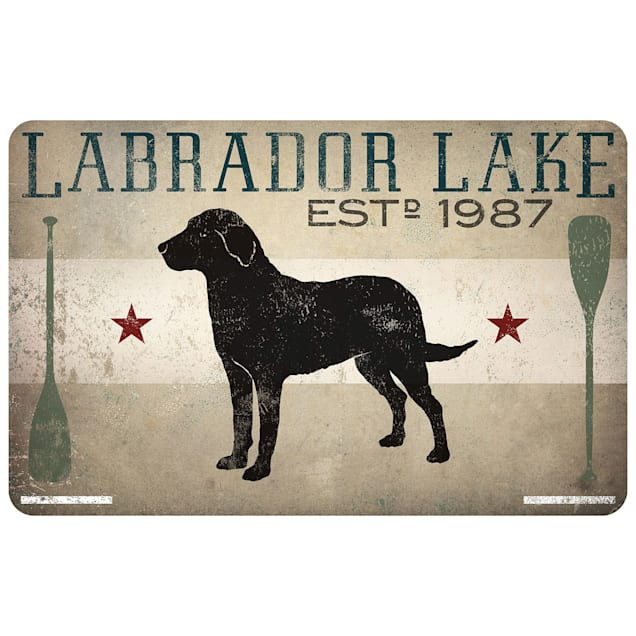 """Bungalow Flooring Premium Comfort Labrador Lake Dog Mat, 31"""" L x 22"""" W - Carousel image #1"""