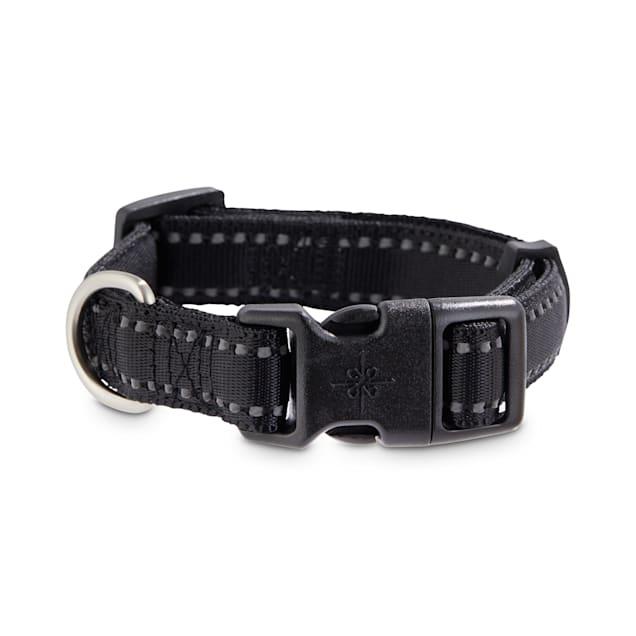 Good2Go Reflective Black Dog Collar, Small - Carousel image #1