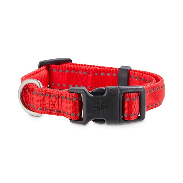 Good2Go Reflective Red Dog Collar, Small - Carousel image #1